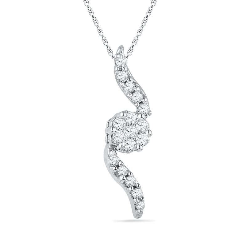 Buy Jpearls Trendy Diamond Pendant online