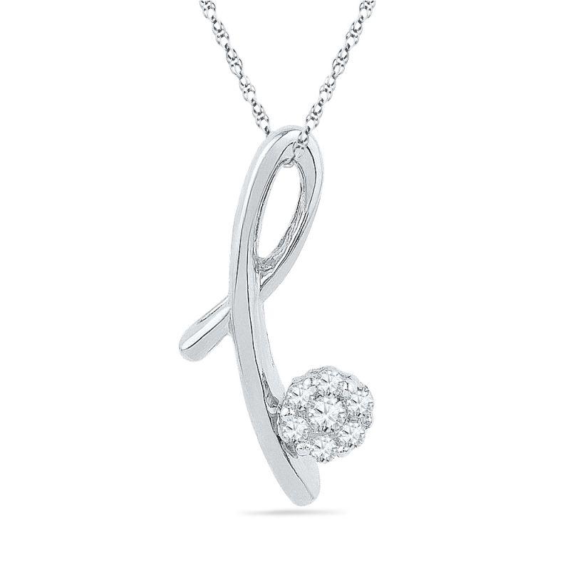 Buy Jpearls Awesome Diamond Pendant online