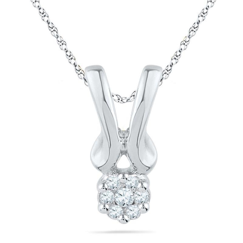 Buy Jpearls Lily Diamond Pendant online