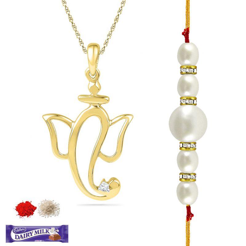 Buy Ganesh Diamond Hamper Code-pf017160-rk online