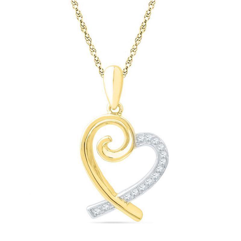 Buy Jpearls Beau Of Love Diamond Pendant online