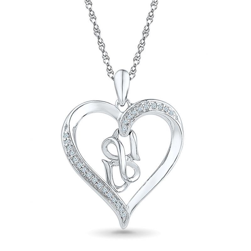 Buy Sri Jagdamba Pearls Ligth Up Love Diamond Pendant -ph074800 online