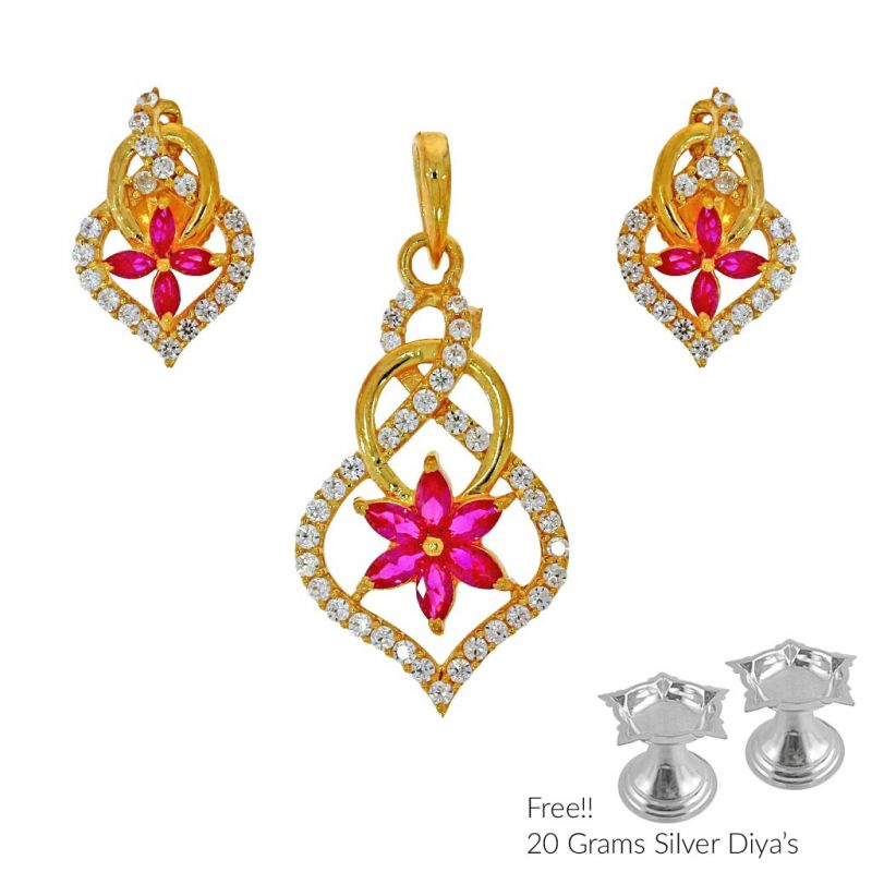 necklace light earring pendant set searchcode and designer gold