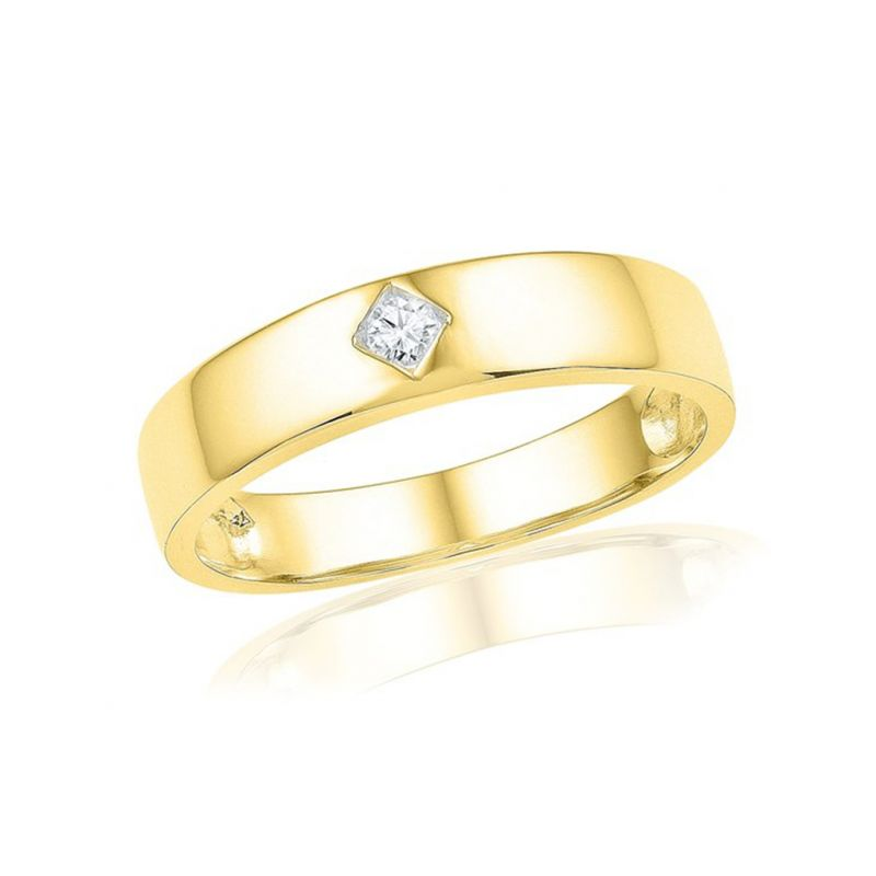 Buy Jpearls 18 Kt Gold Abell Diamond Finger Ring online