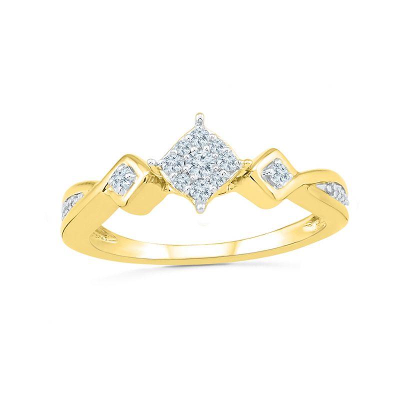 Buy Sri Jagdamba Pearls True Love Diamond Ring-rp022160 online