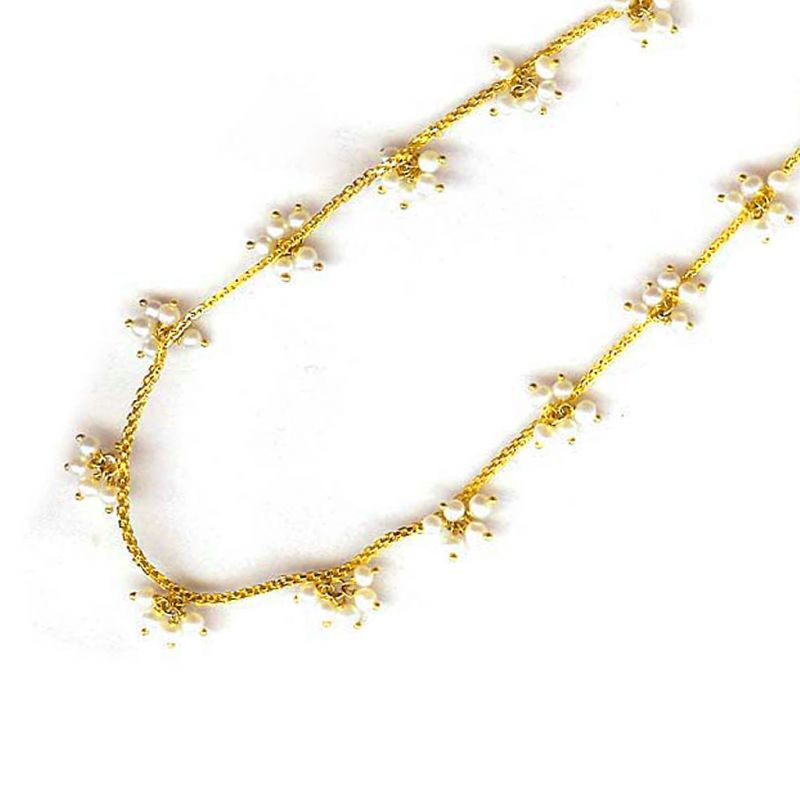 Buy Jpearls Pearl Gold Chain online