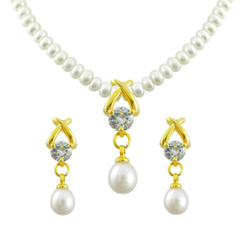 Buy Mother''s Day - Jagdamba Arzina Pearl Set online