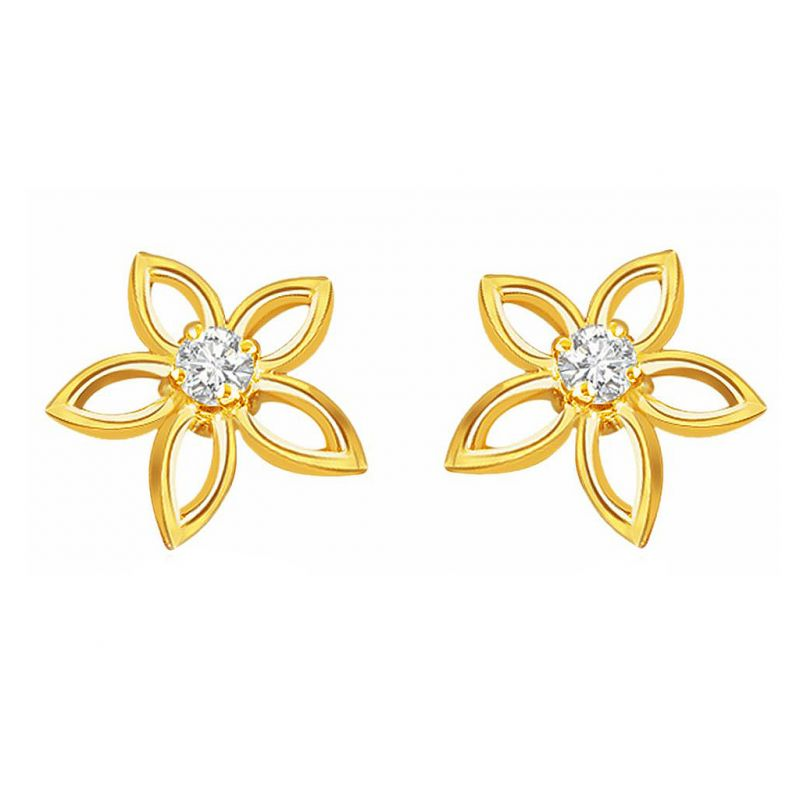 Buy Jpearls Diamond Lilly Earring online