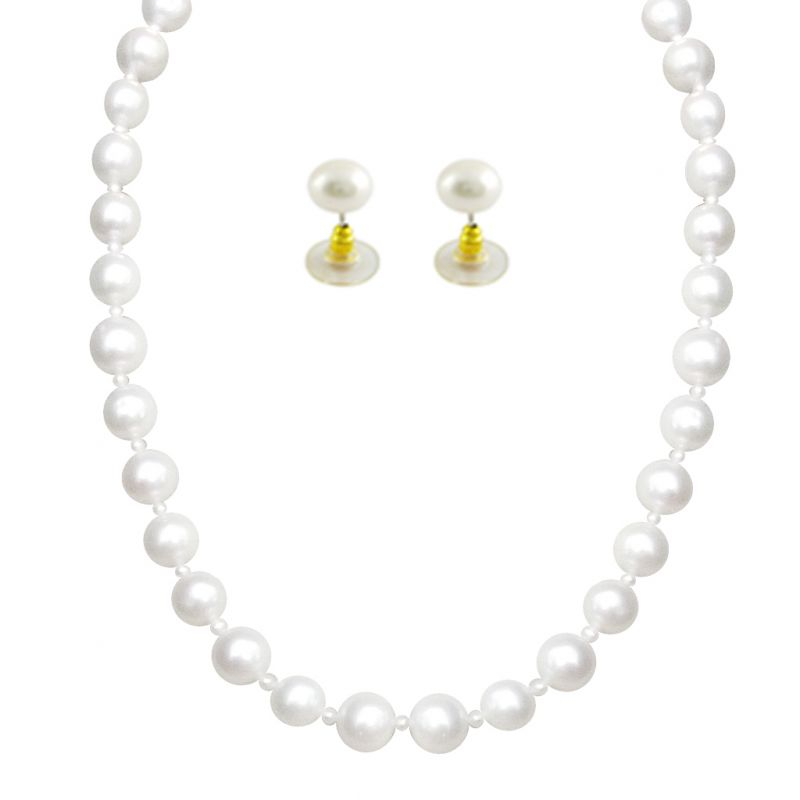 Buy Jpearls Marvelous Knotted Pearl Set - Sjpjn-428 online