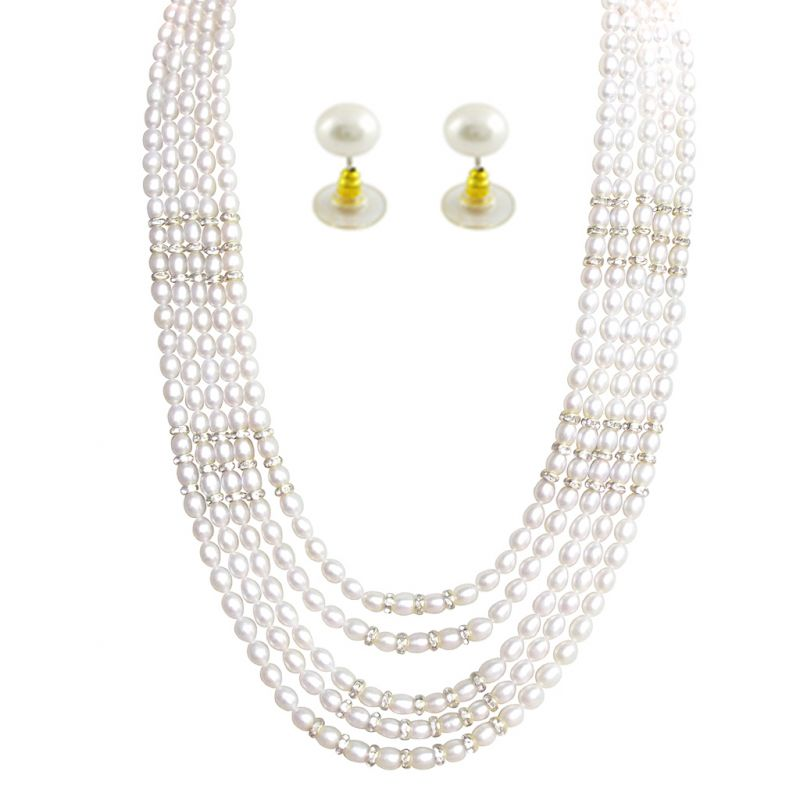 Buy Jpearls Gracefull Gigantic Pearl Set - Sjpjn-453 online