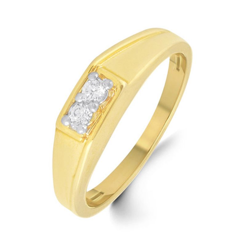 Buy 18 Kt Gold Prisha Diamond Finger Ring (tgr10110384 ) online