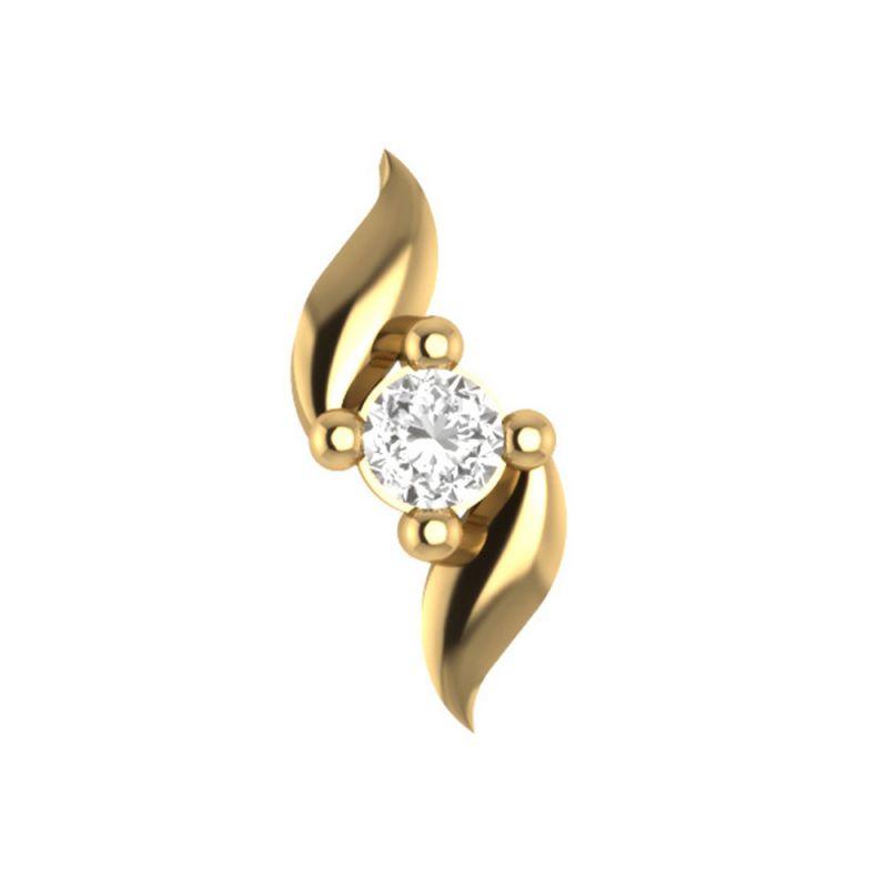 Buy Sri Jagdamba Pearls Akriti Diamond Nose Pin-vanp 1028 online