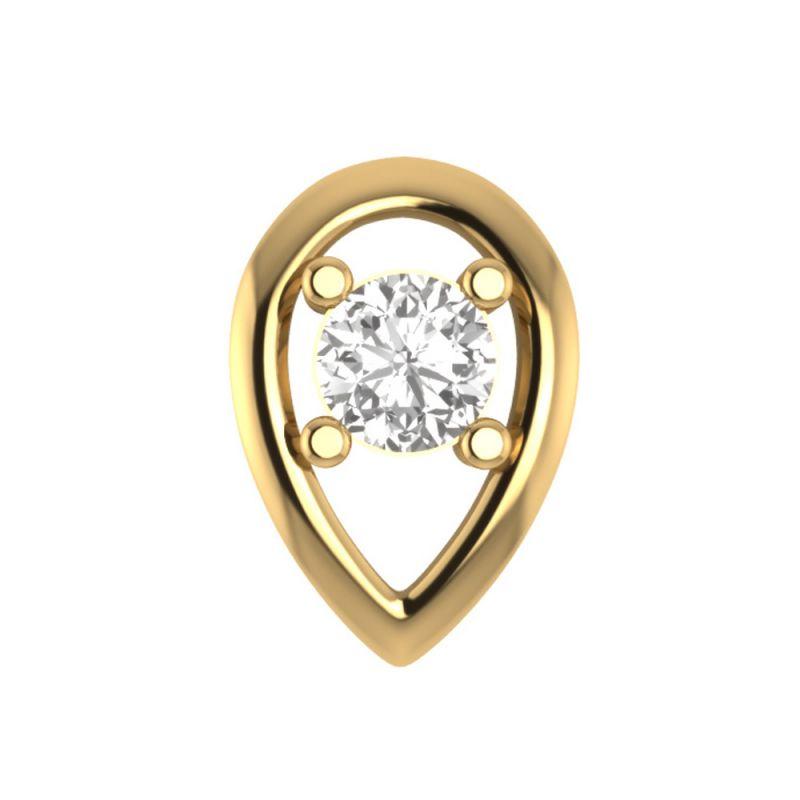 Buy Sri Jagdamba Pearls Dristi Diamond Nose Pin-vanp 1031 online