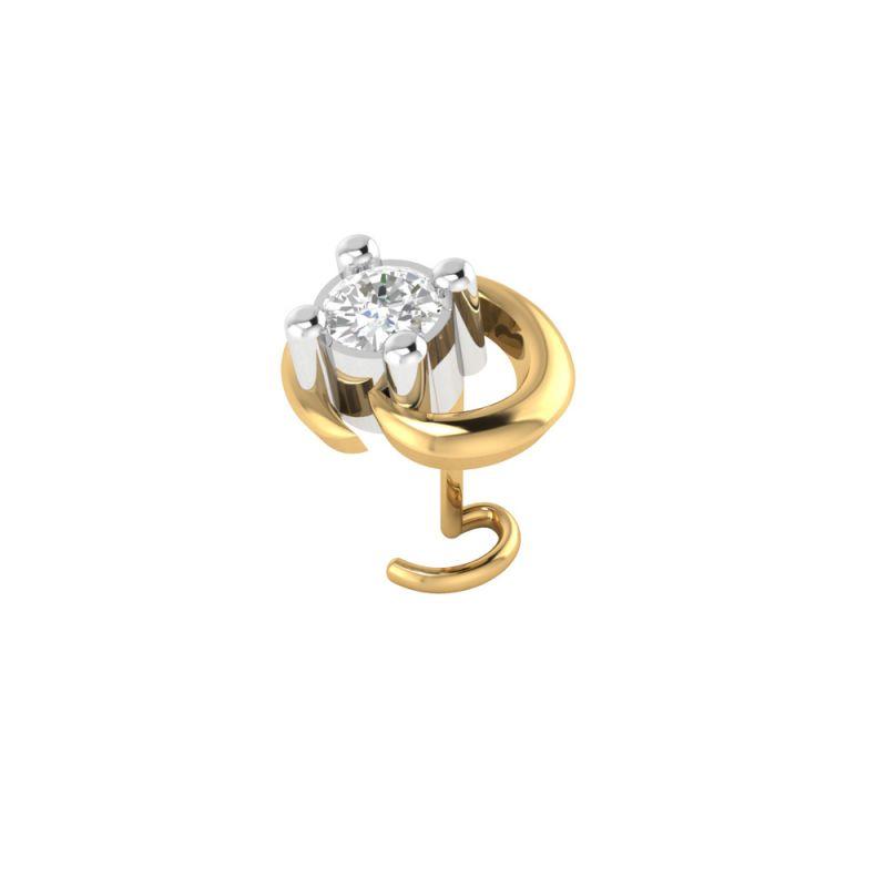 Buy Sri Jagdamba Pearls Beauty Diamond Nose Pin-vanp 1046 online