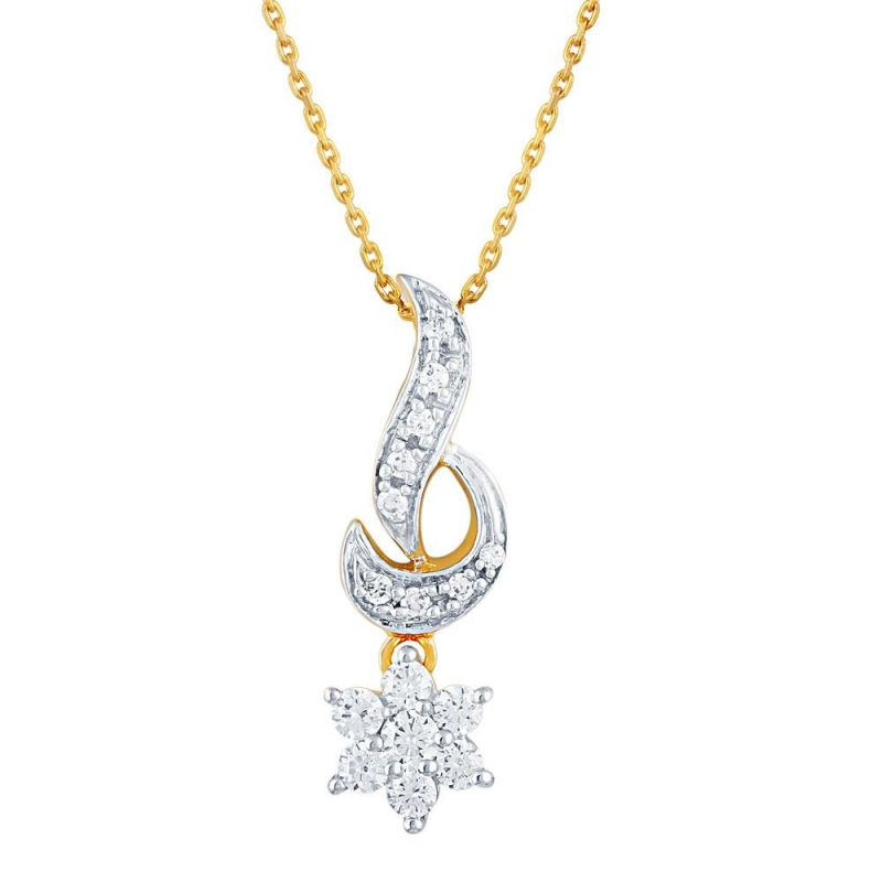 Buy Nakshatra Yellow Gold Diamond Pendant online