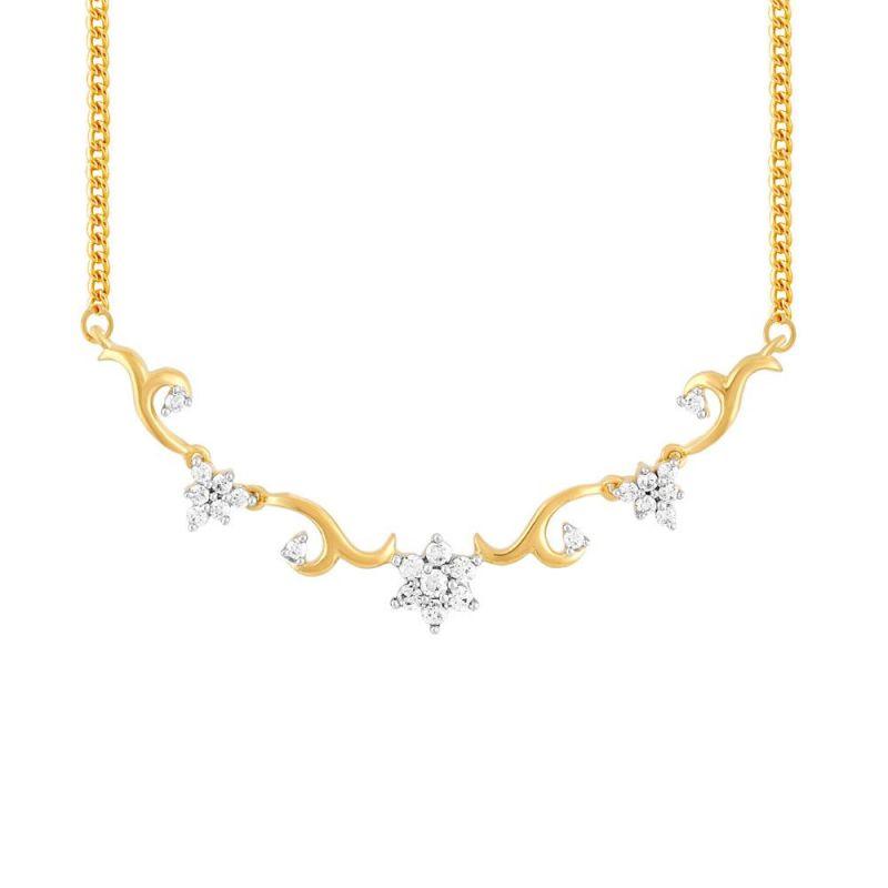 Buy Nakshatra Yellow Gold Diamond Tanmaniya Cp071si-jk18y online