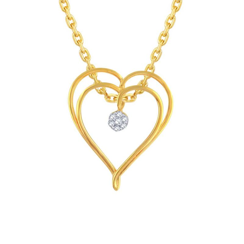 Buy Gili Yellow Gold Diamond Pendant Ip158si-jk18y online