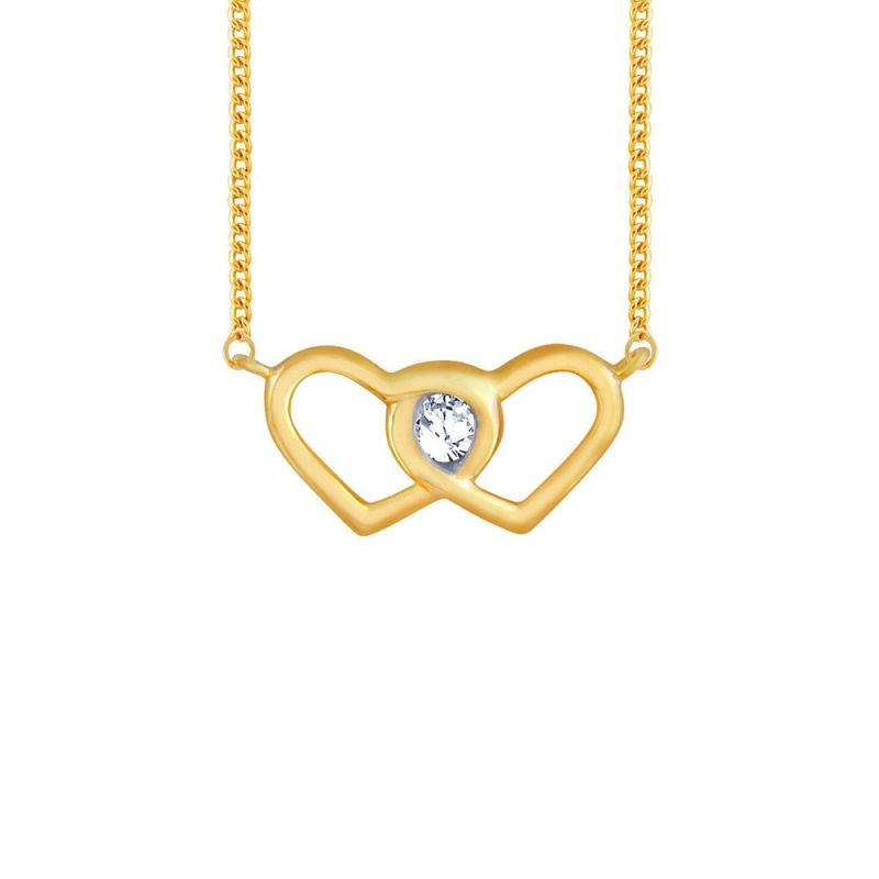 Buy Me-solitaire Yellow Gold Diamond Pendant Fp602si-jk18y online