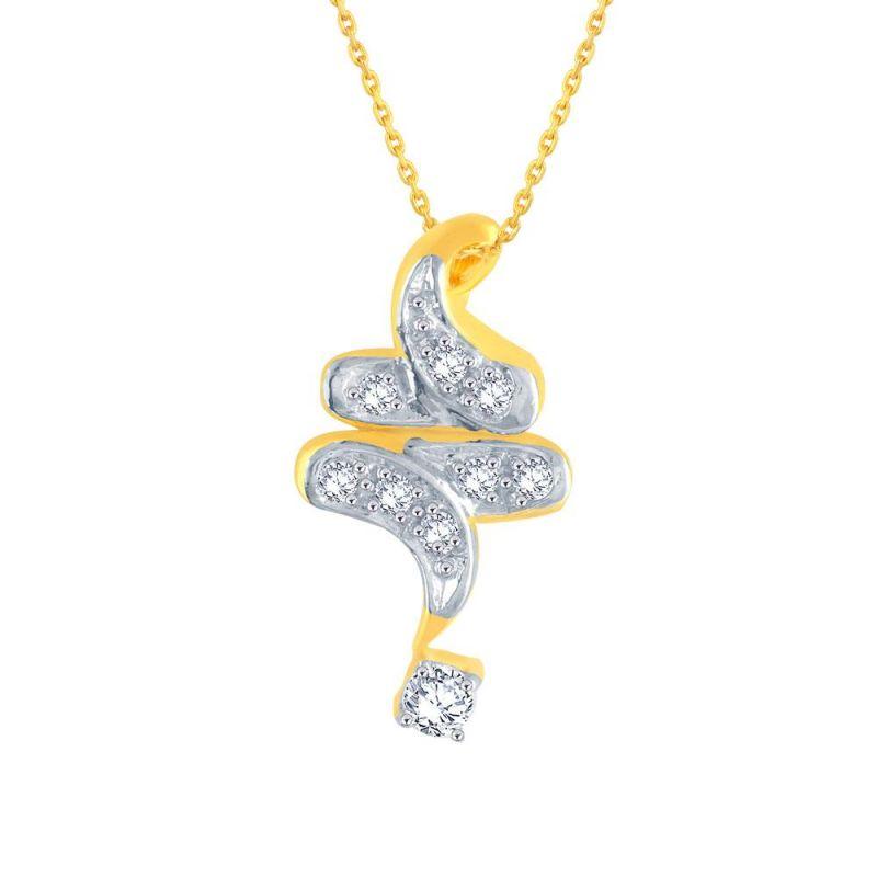 Buy Me-solitaire Yellow Gold Diamond Pendant Ap712si-jk18y online