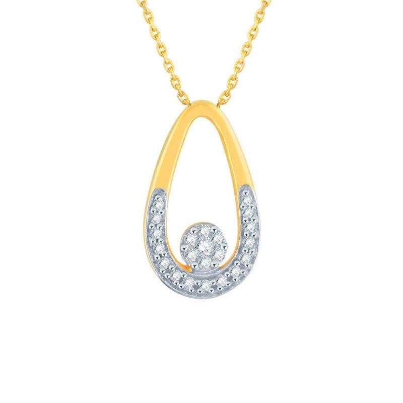Buy Nirvana Yellow Gold Diamond Pendant Ip045si-jk18y online