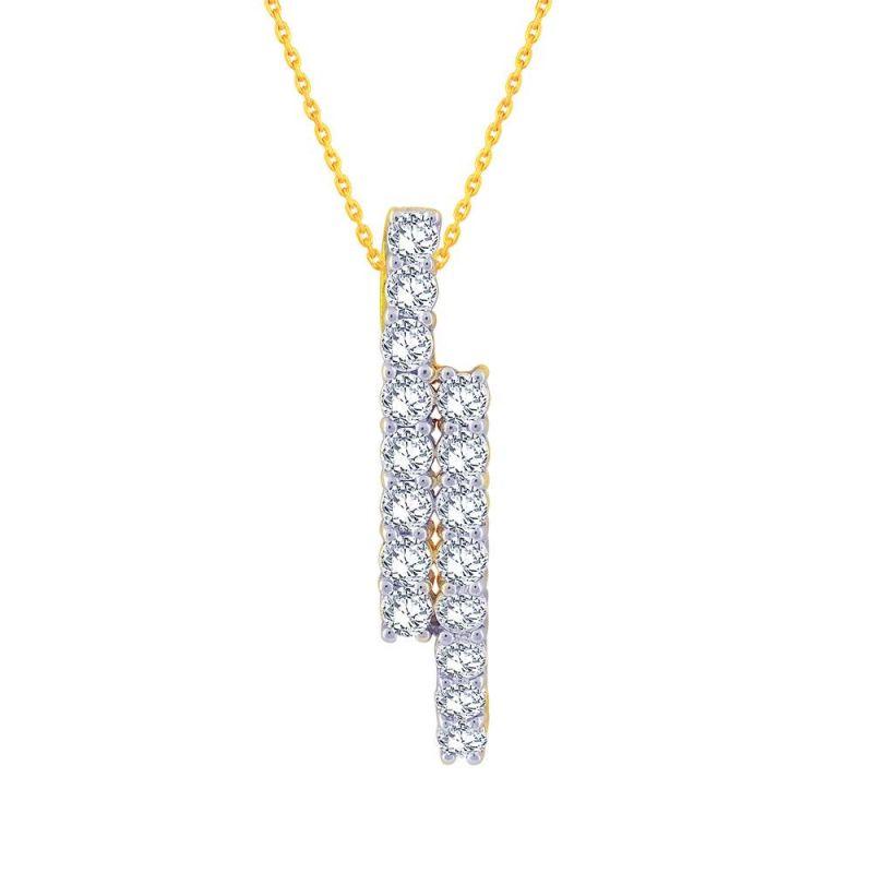 Buy Gili Yellow Gold Diamond Pendant Ep957si-jk18y online