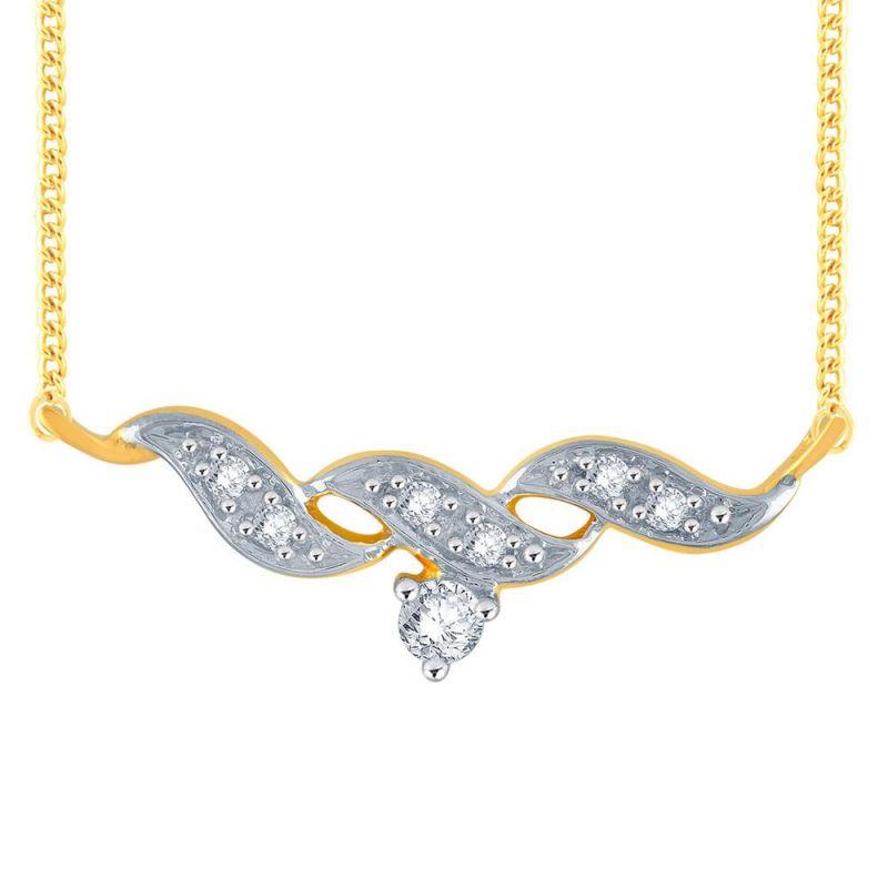 Buy Me-solitaire Yellow Gold Diamond Tanmaniya Ap654si-jk18y online
