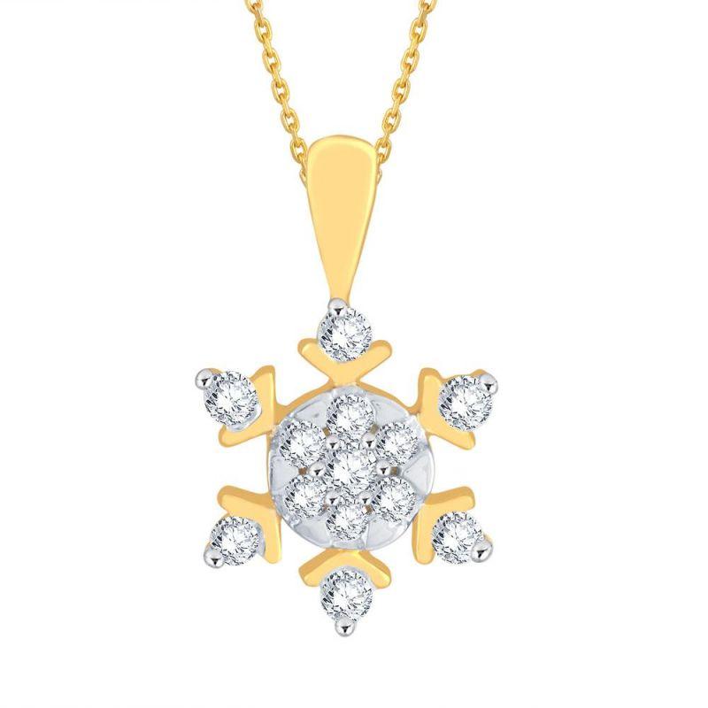 Buy Nakshatra Yellow Gold Diamond Pendant Lp602si-jk18y online