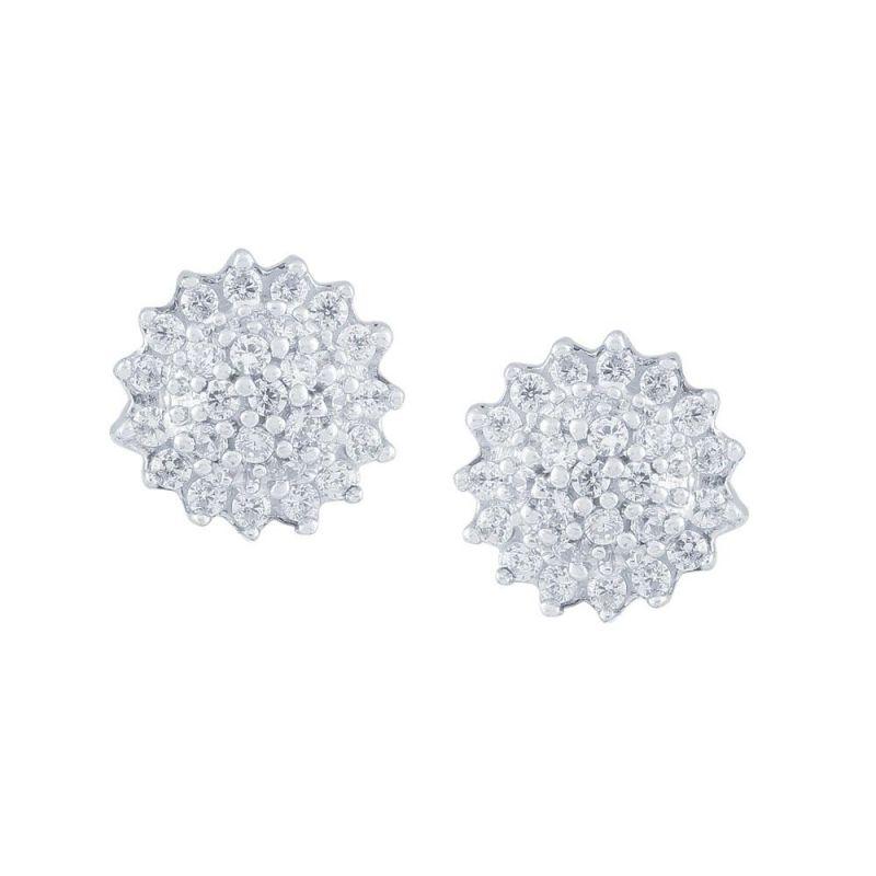 Buy Sangini Yellow Gold Diamond Earrings Nr78390si-jk18y online