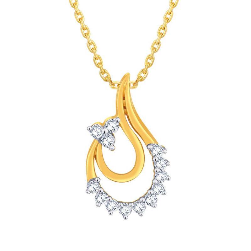 Buy Gili Yellow Gold Diamond Pendant Ep686si-jk18y online
