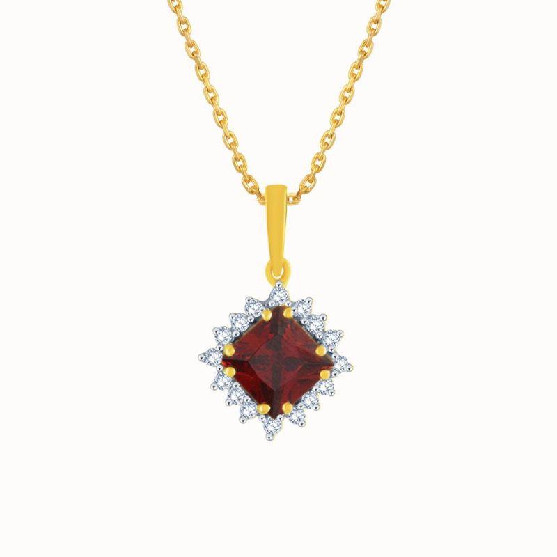 Buy Parineeta Yellow Gold Diamond Pendant Kp158si-jk18y online