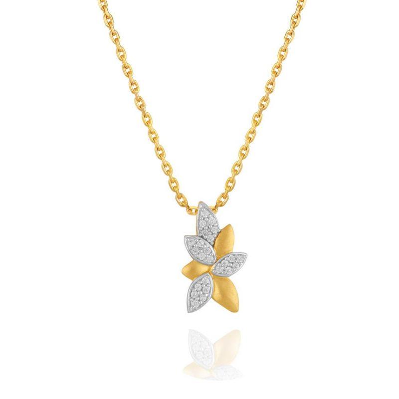 Buy Maya Diamond Yellow Gold Diamond Pendant Pp16950si-jk18y online