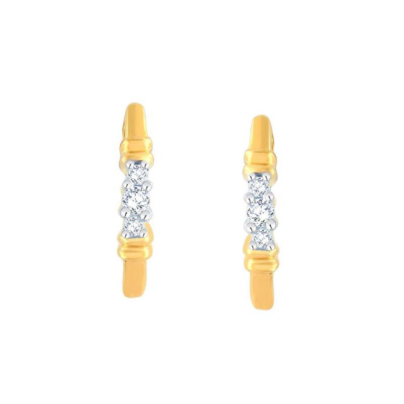 Buy Gili Yellow Gold Diamond Earrings Je536si-jk18y online
