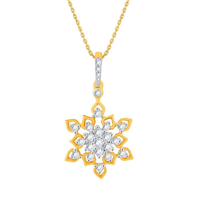 Buy Nakshatra Yellow Gold Diamond Pendant Bap790si-jk18y online