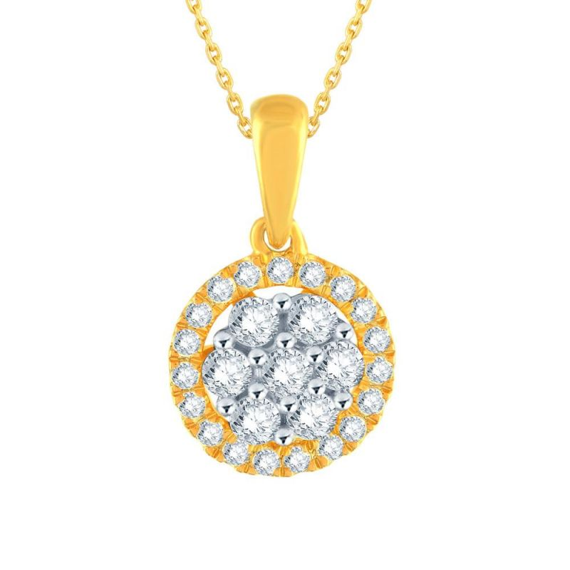 Buy Nakshatra Yellow Gold Diamond Pendant Bbp348si-jk18y online