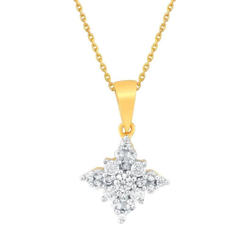 Buy Sangini Yellow Gold Diamond Pendant Cp730si-jk18y online