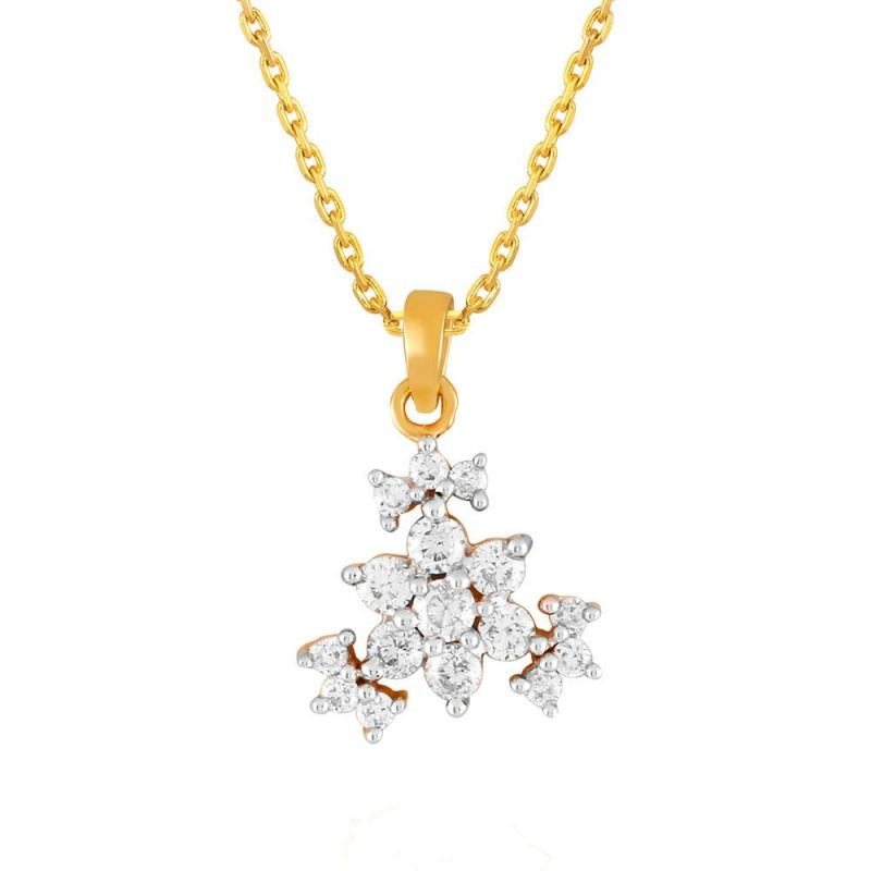 Buy Sangini Yellow Gold Diamond Pendant Npa192si-jk18y online