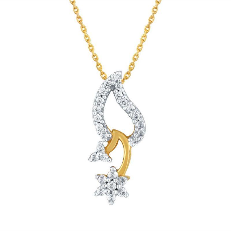 Buy Nakshatra Yellow Gold Diamond Pendant Npa294si-jk18y online
