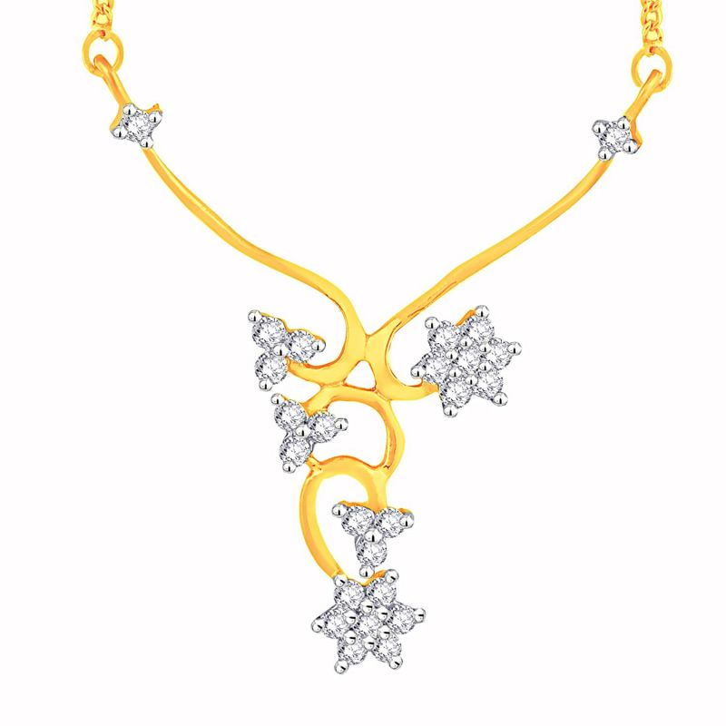 Buy Maya Diamond Yellow Gold Diamond Tanmaniya Yp307si-jk18y online