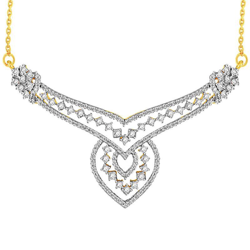 Buy Maya Diamond Yellow Gold Diamond Tanmaniya Yp246si-jk18y online