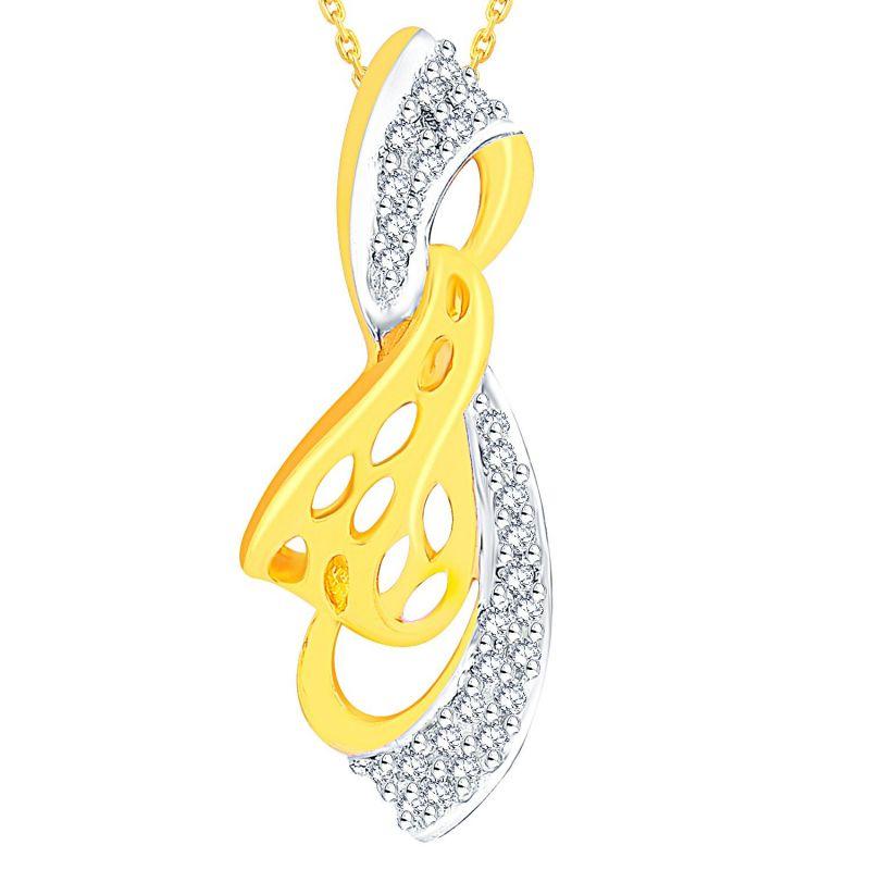 Buy Maya Diamond Yellow Gold Diamond Pendant Adp00646si-jk18y online