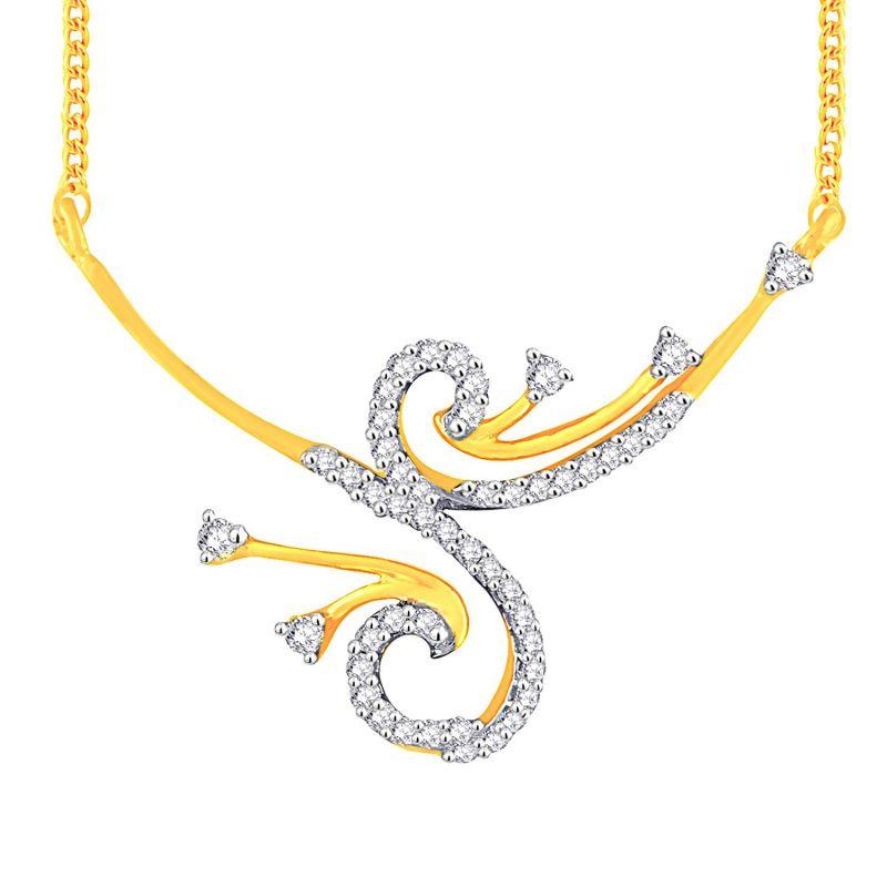 Buy Asmi Yellow Gold Diamond Tanmaniya Yp322si-jk18y online