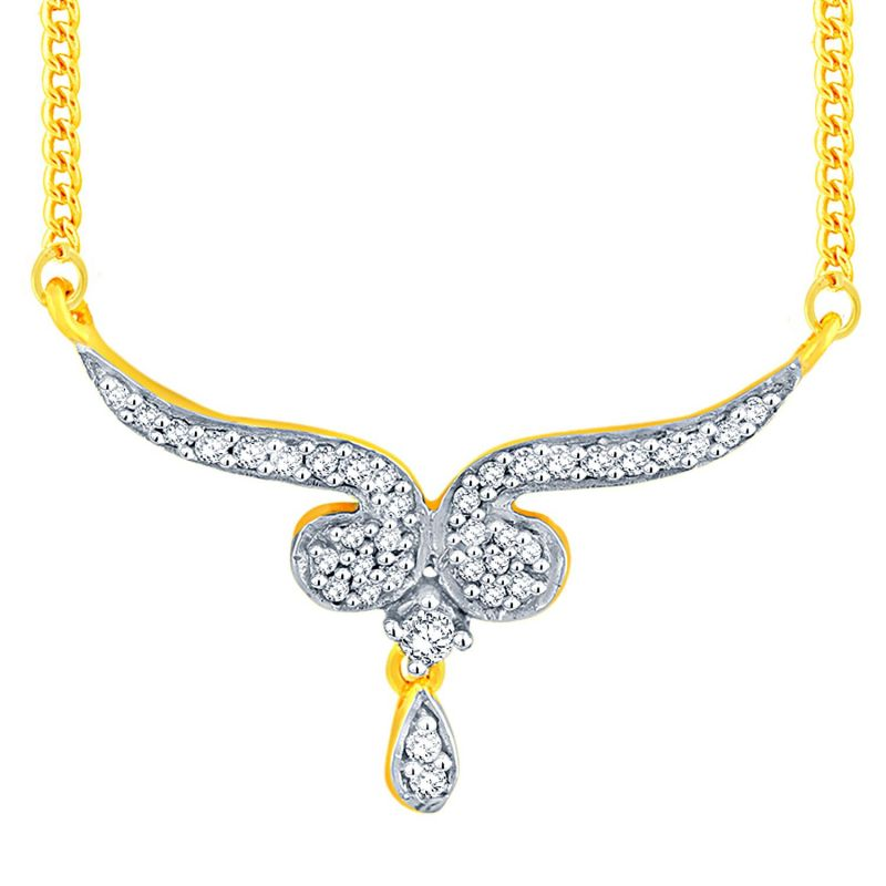 Buy Sangini Yellow Gold Diamond Tanmaniya Fp478si-jk18y online