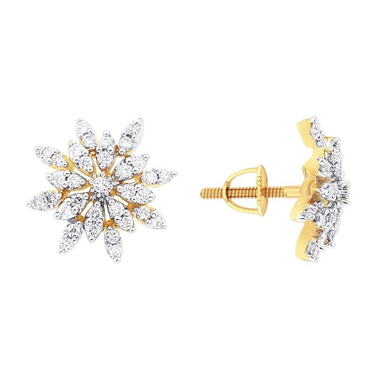 Asmi Diamond Earrings Ade00483sigh 18kt