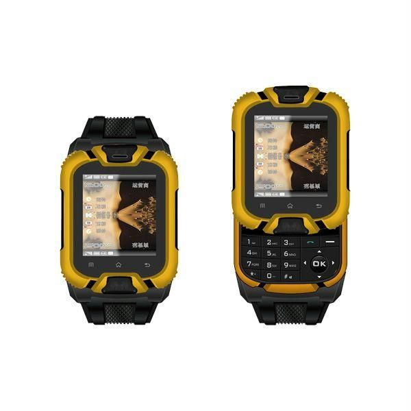 Get Best Offers Dual Sim Watch Mobile With Bluetooth Headset