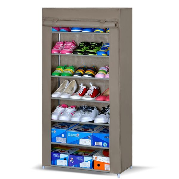 Buy 7 Layer Shoe Rack With Dust And Water Resistant Cover Price and Features.Shop  7 Layer Shoe Rack With Dust And Water Resistant Cover Online.