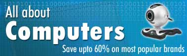 Discount on Laptop, Desktops & Computer Accessories - Save upto 60% On most popular brands
