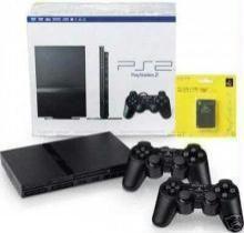 Κονσόλα PS2 slim + Memory + 2 Controllers