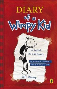 Diary Of A Wimpy Kid (Book 1) (Paperback): Book by Jeff Kinney