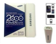 Samsung 2600 MAh Mobile Phone Battery USB Power Bank Emergency Charger