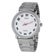 Stylox Dial Chain Analog Watch For Men [Wh-Stx213]